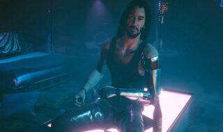 Cyberpunk 2077 Johnny Silverhand mod