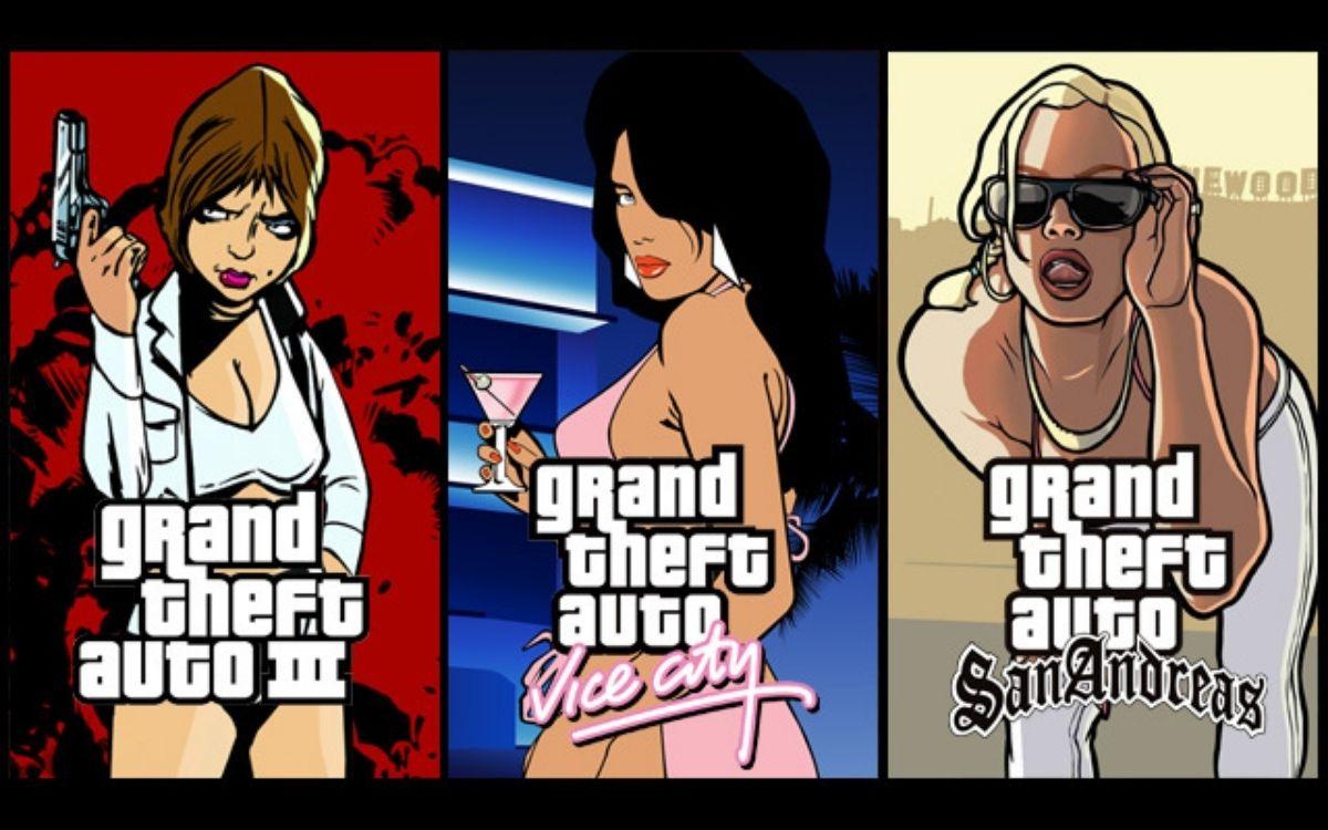 GTA Trilogie, GTA 3, San Andreas, Vice City