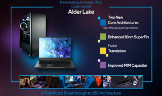 Intel Core Alder Lake : la 12e génération destinée à concurrencer la puce M1 d'Apple