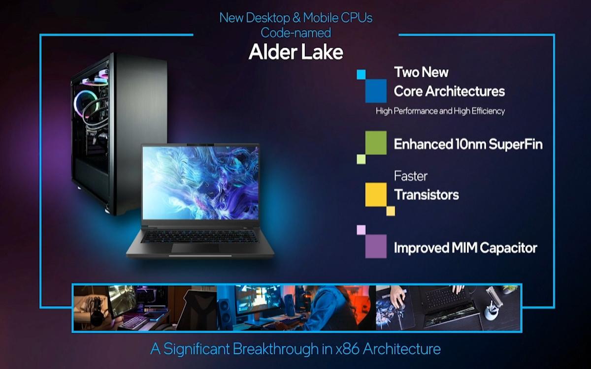 Intel Core Alder Lake 12e génération
