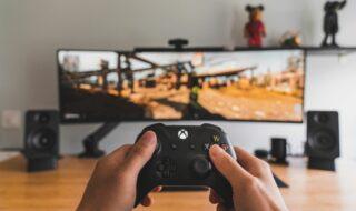 Microsoft Xbox Series (image libre de droits)