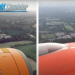 Microsoft flight simulator vs real life