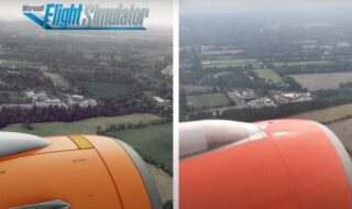 Microsoft flight simulator vs real life