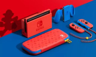 Nintendo Switch Red & Blue Mario édition