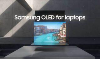 Samsung OLED pour PC portables