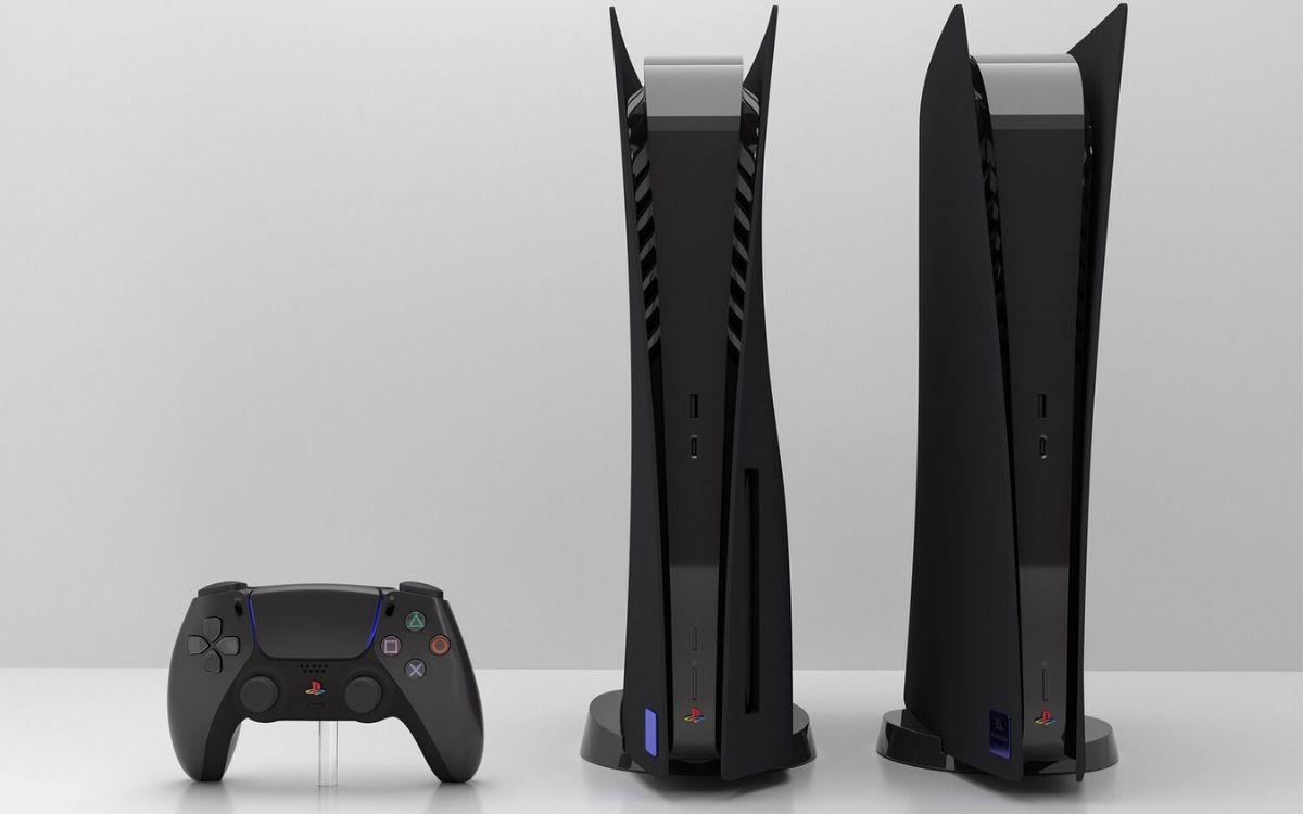 PS5 noir custom