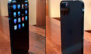 Apple : voici à quoi ressemble un prototype d'iPhone 12 Pro