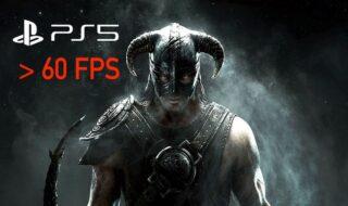 Skyrim PS5 60 FPS
