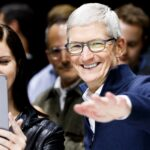 Tim Cook, l'actuel P.D.-G d'Apple (JUSTIN LANE/EPA-EFE/Shutterstock)