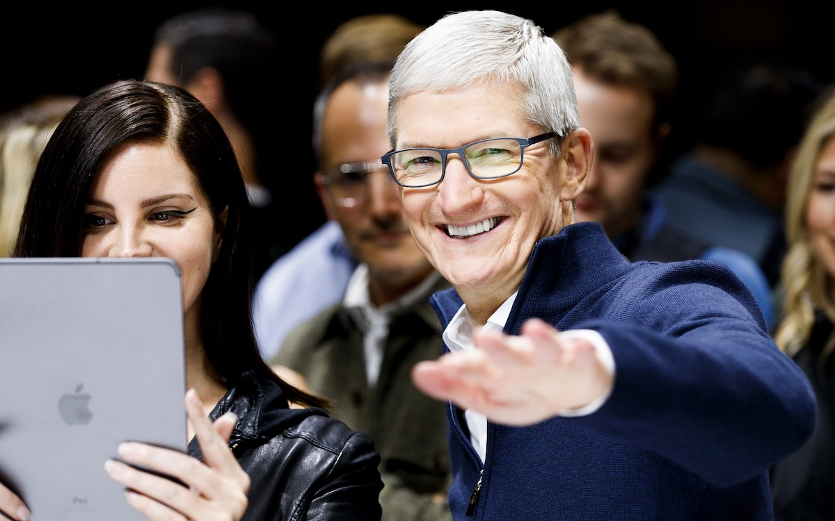 Tim Cook, l'actuel P.-D. G. d'Apple (JUSTIN LANE/EPA-EFE/Shutterstock)