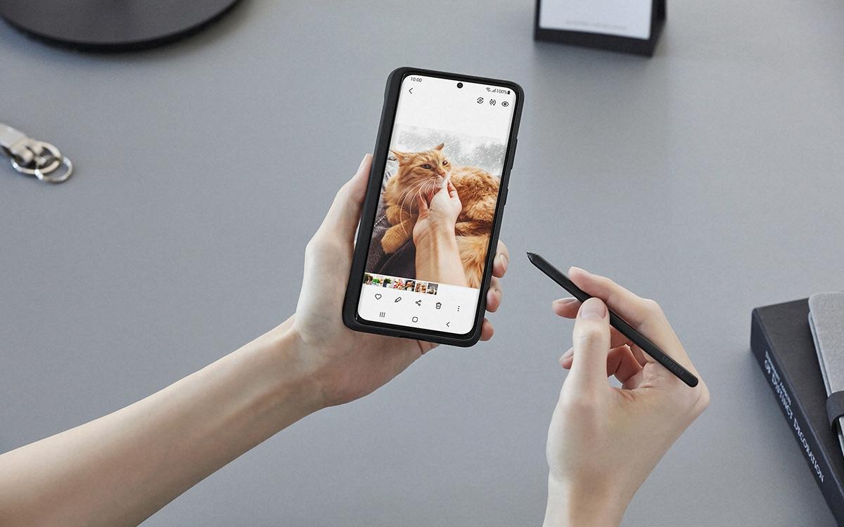 Galaxy S21 avec le S-Pen