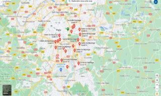 Google Maps : les centres de dépistage du Covid-19 sont désormais affichés