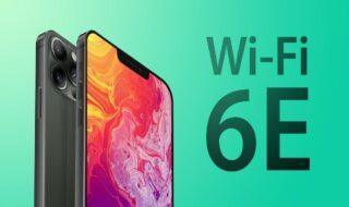 iPhone 13 Wi-Fi 6E