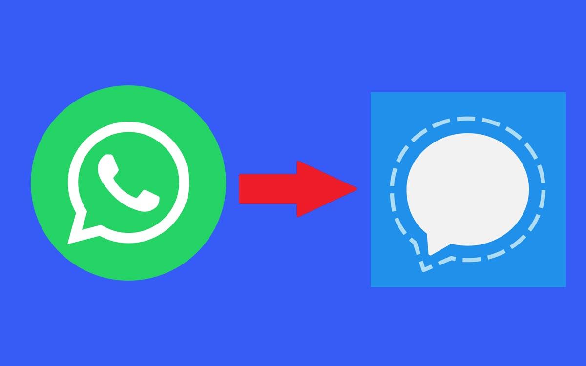 Comment migrer de WhatsApp vers Signal