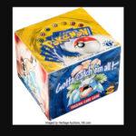 Record de vente d'un display Pokémon