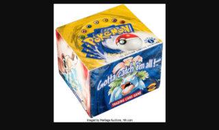 Pokémon : un display de cartes première édition vendu 337.000 euros, nouveau record