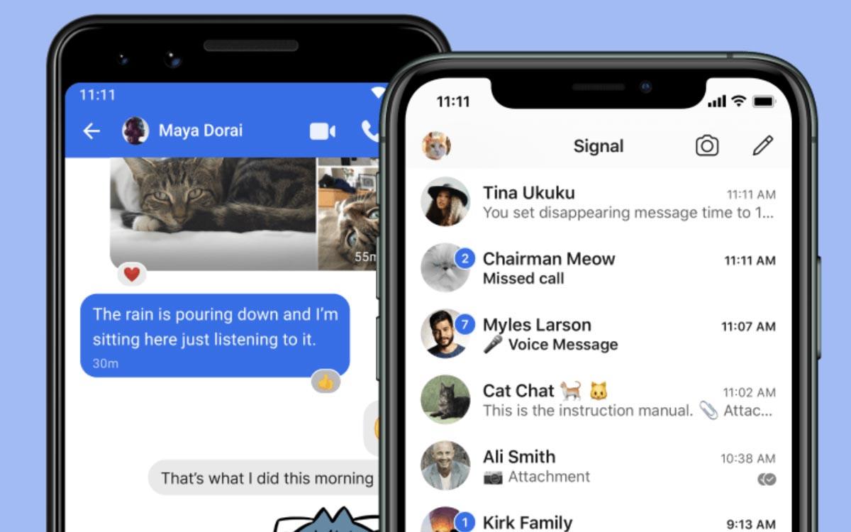 Signal : alternative à Whatsapp