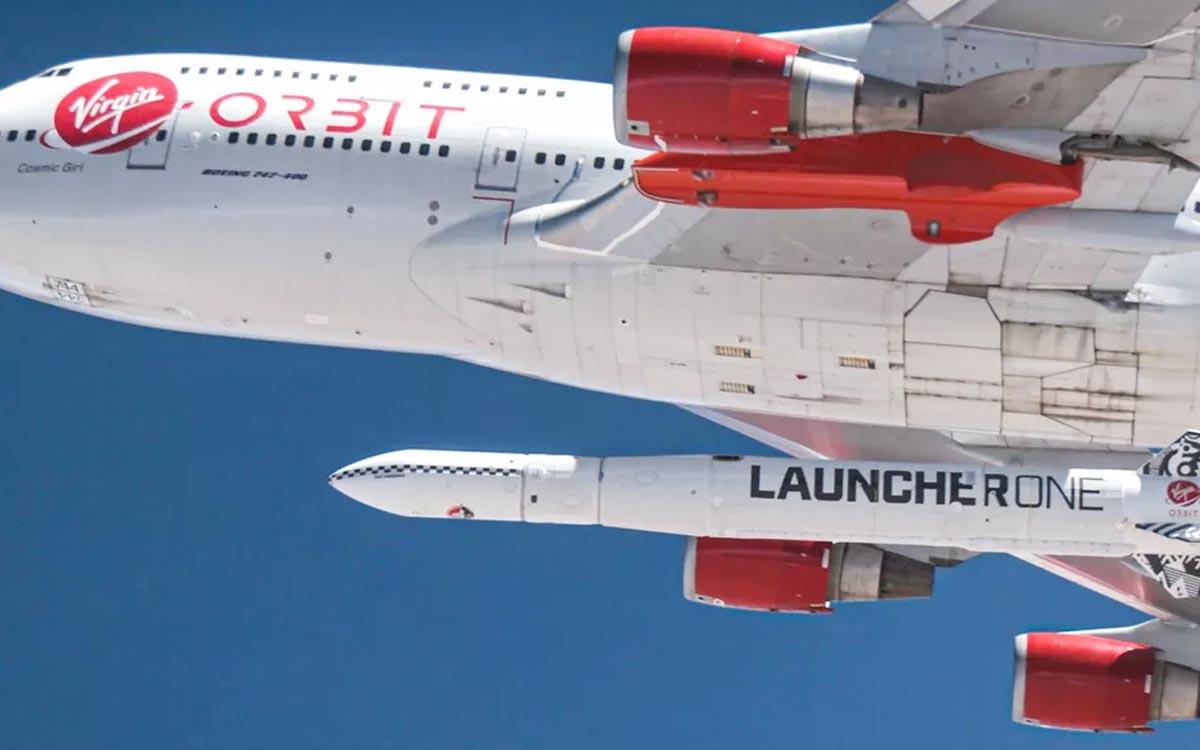 Pour la première fois, Virgin Orbit atteint l'orbite