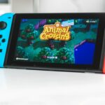 Animal Crossing New Horizons Nintendo Switch (image libre de droits)