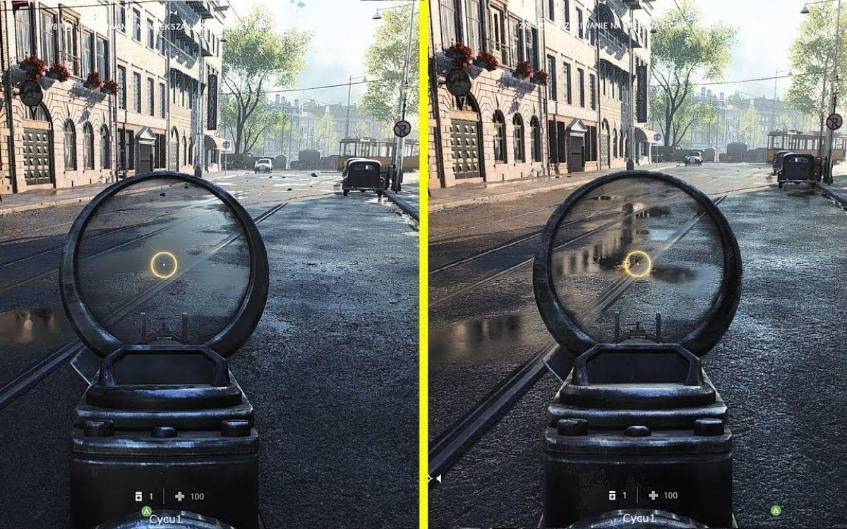 Battlefield ray tracing