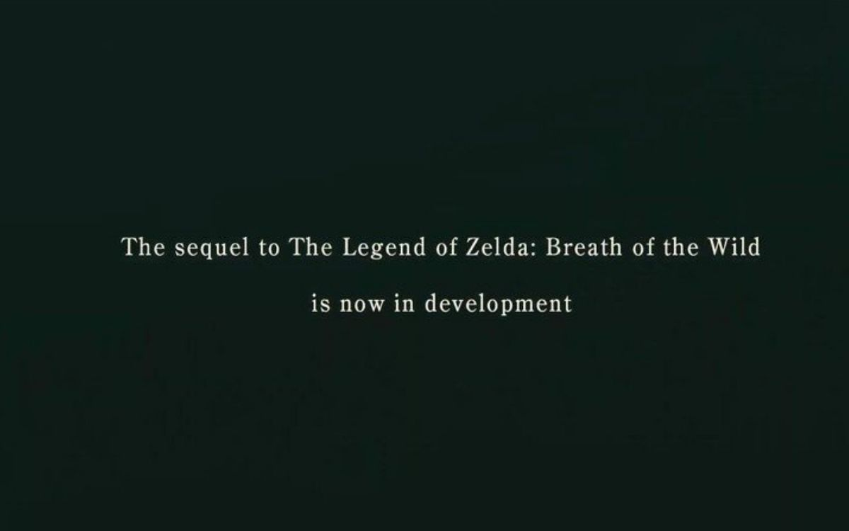 Breath of the Wild 2 en développement