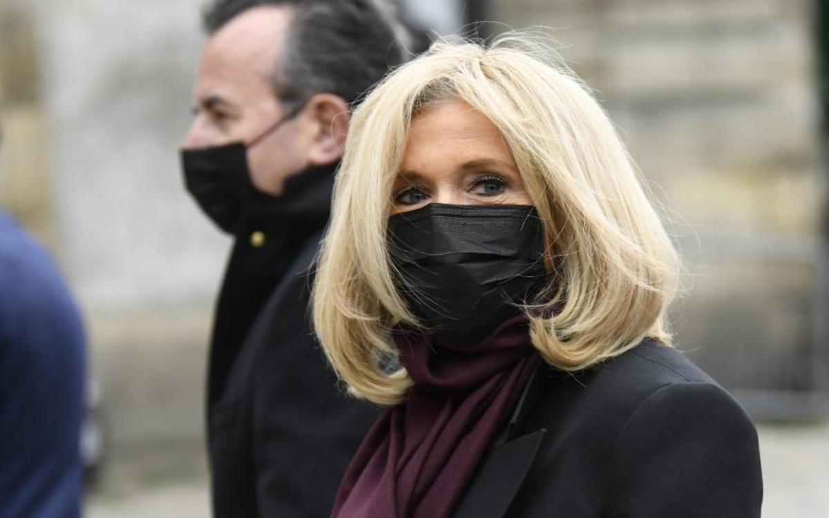 Brigitte Macron. Bertrand GUAY : AFP
