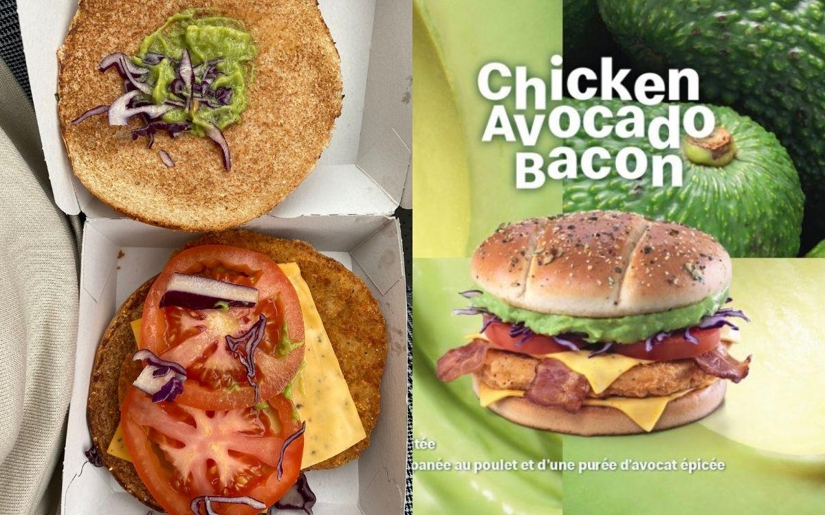 Chicken Avocado McDo