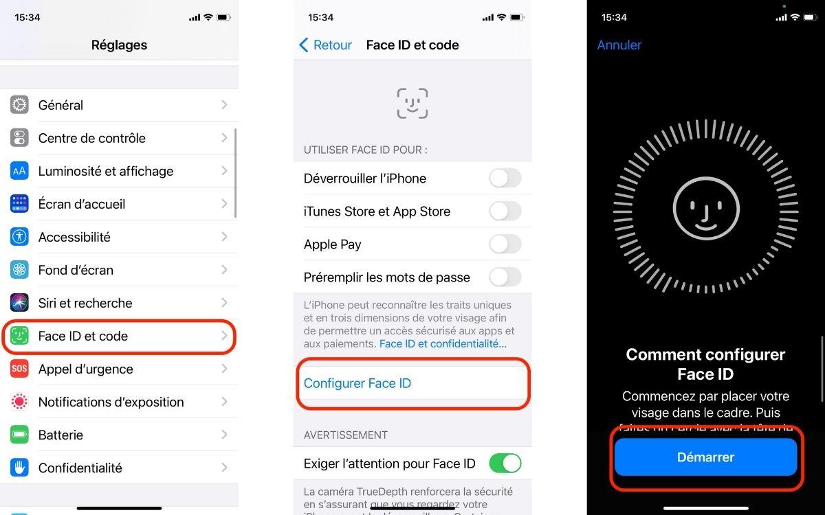 Comment déverrouiller son iPhone avec un masque Face ID
