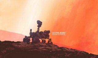 Mars 2020 : voici l'époustouflant panorama de Mars capturé par Perseverance