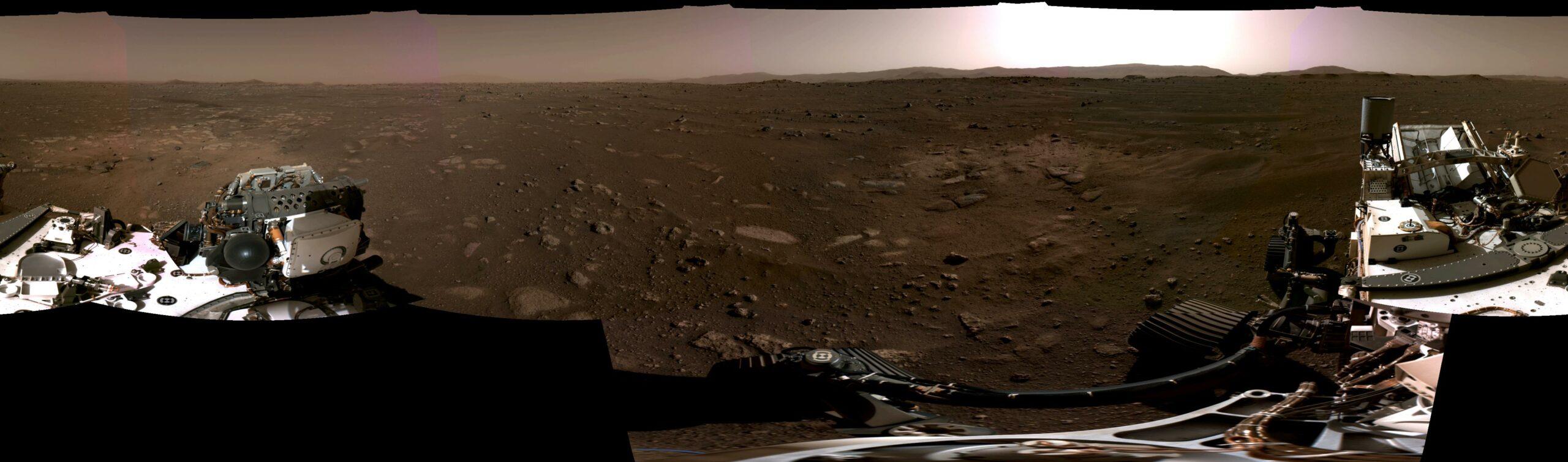 Le panorama. Image NASA / JPL-CALTECH