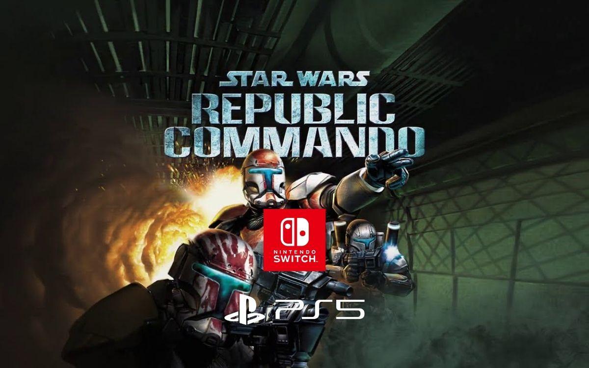 Star Wars Republic Commando Switch PS4 PS5