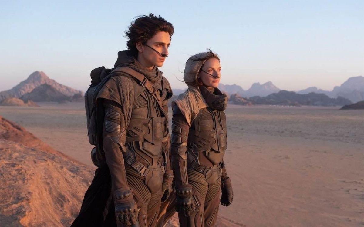 Timothée Chalamet (Paul Atréides) Dune 2021