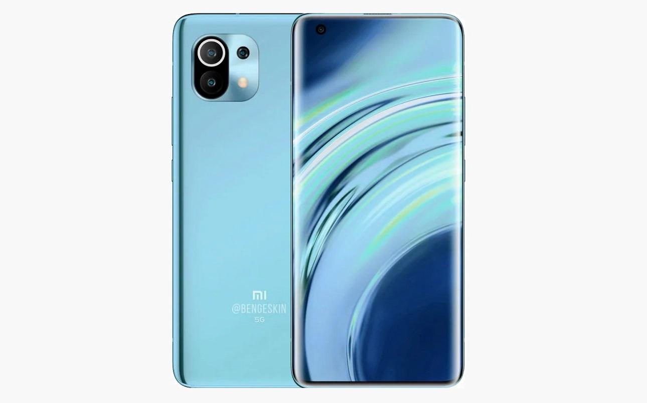 Design du Xiaomi Mi 11