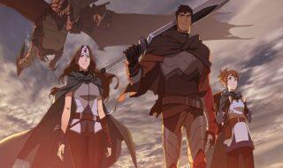 Netflix : arrivée imminente de Dragon's Blood, série animée basée sur Dota 2