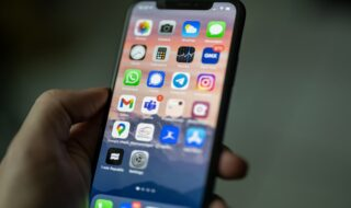 iPhone d'Apple (image libre de droits)