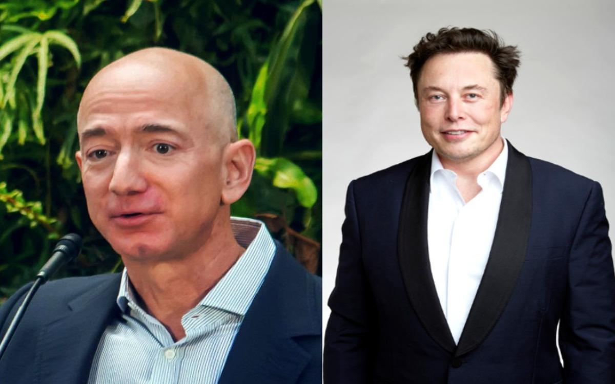 Jeff Bezos et Elon Musk