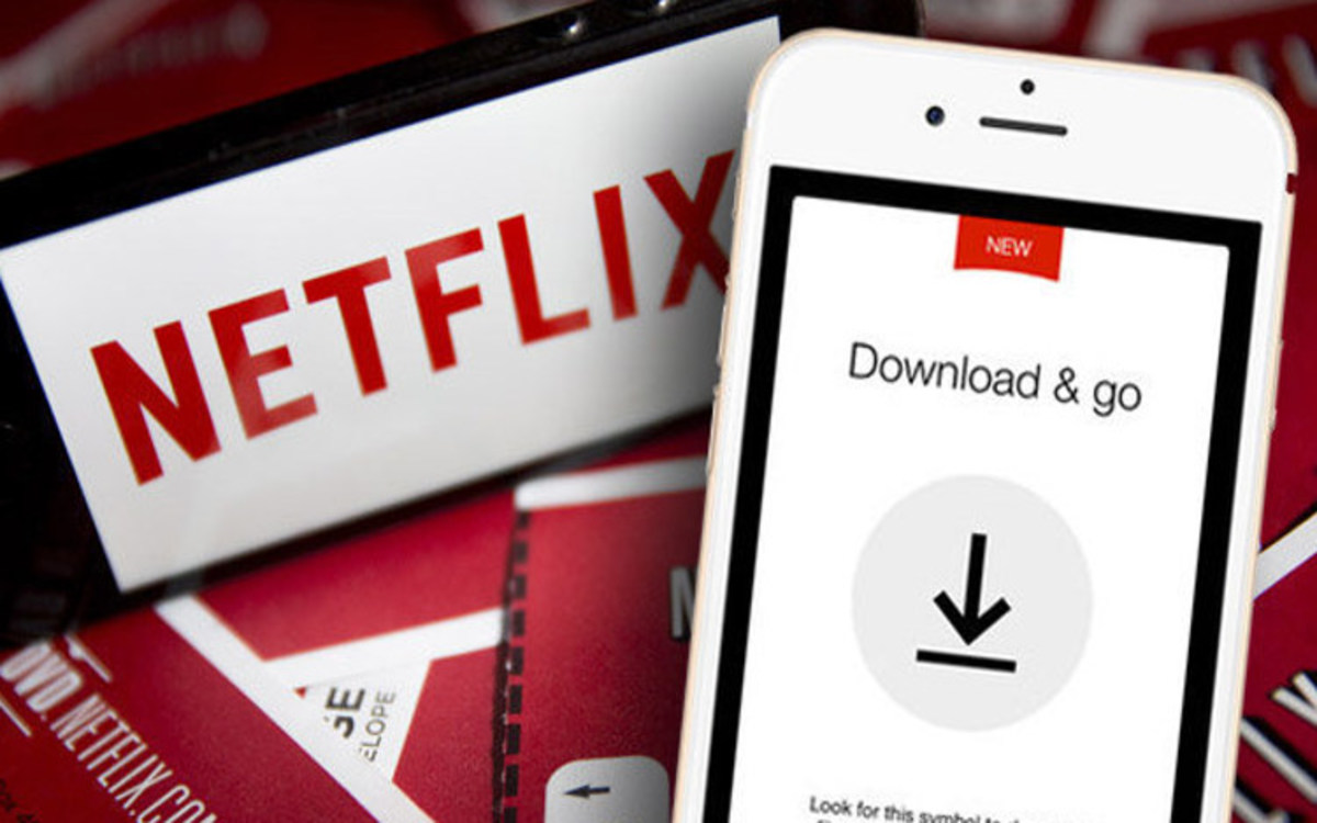 Netflix: watch a video offline
