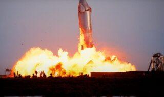 SpaceX : Elon Musk explique enfin pourquoi Starship SN10 a explosé