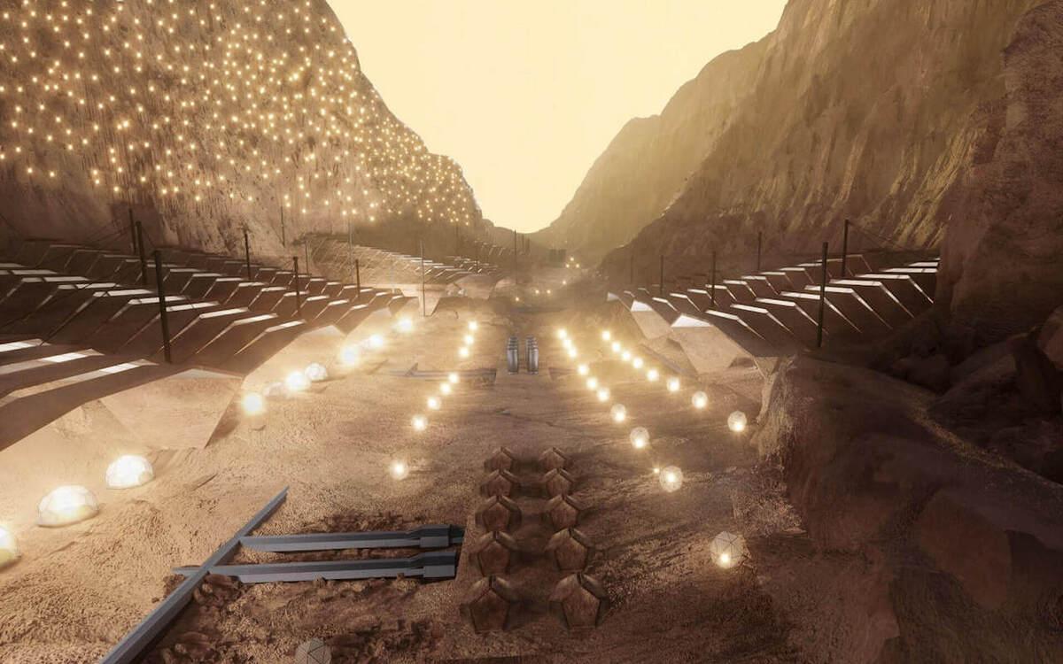 Projet de ville sur Mars