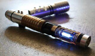 Un sabre laser créé par @sabers_forever_