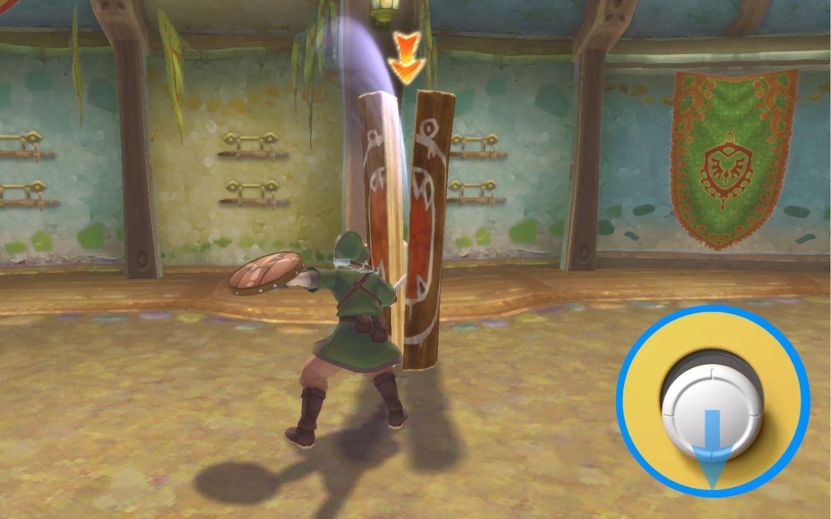 Skyward Sword HD gameplay