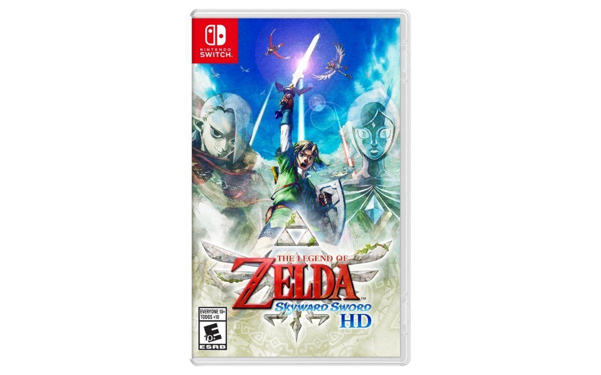 The Legend of Zelda: Skyward Sword HD, la boîte.