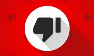 YouTube : le bouton «Je n'aime pas » pourrait bientôt disparaître