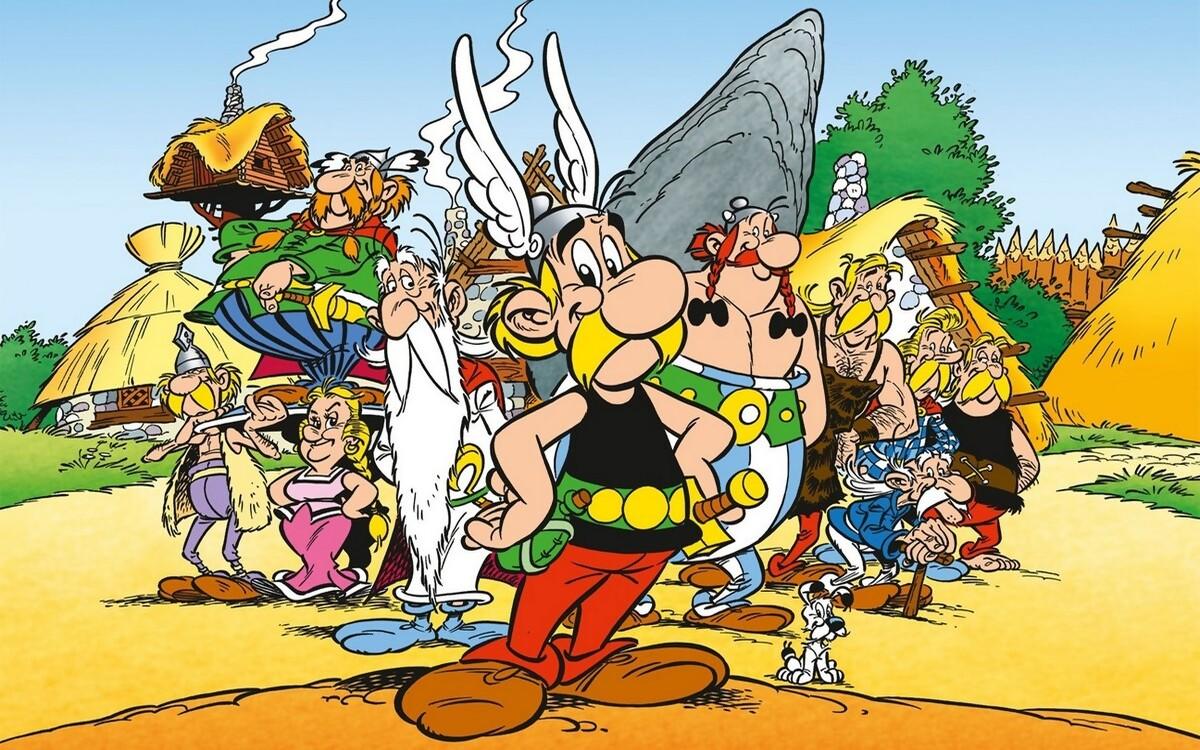 Astérix et le village gaulois