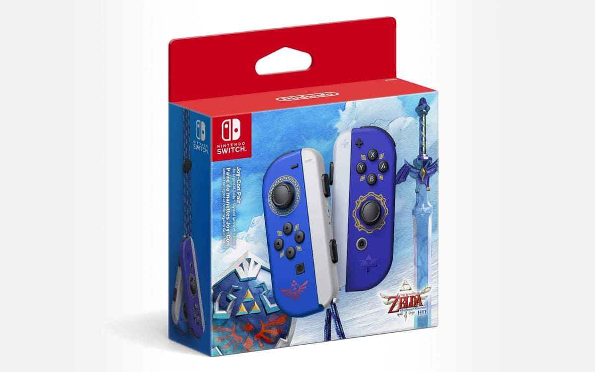 Joy-Con The Legend of Zelda: Skyward Sword. Image Nintendo