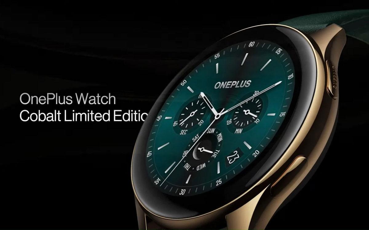 OnePlus Watch Cobalt : édition limitée