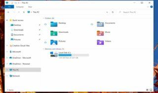 Windows 10 : l'explorateur de fichiers fait peau neuve, découvrez ses nouvelles icônes