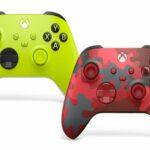 Xbox : nouveaux coloris de manettes