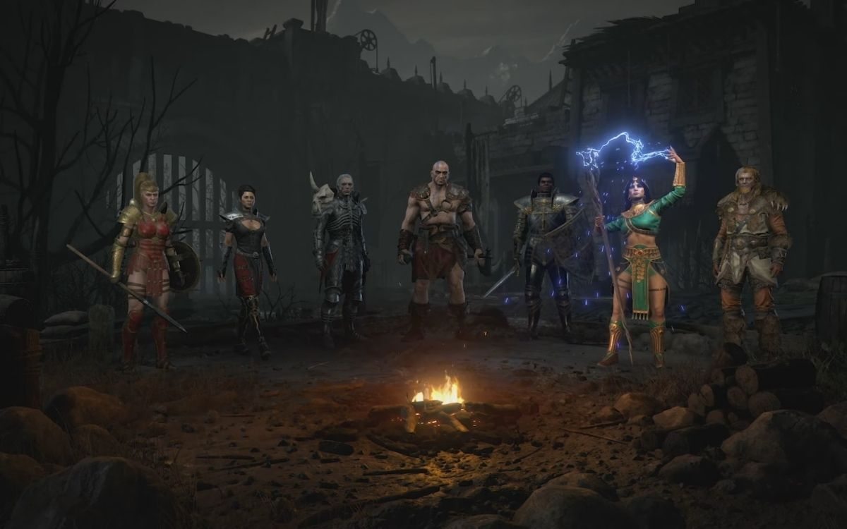 Diablo II: Resurrected, les personnages
