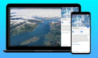 Google Earth : Timelapse, un nouvel outil pour revenir dans le temps et voir l'impact du réchauffement climatique